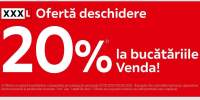 Oferta deschidere XXXLutz:15% reducere la bucatariile Venda