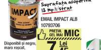 Vopsea pentru lemn si metal Email Impact alb