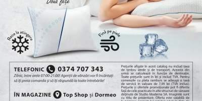Perna cu efect racoritor 2 in 1 Cooling Pillow Dormeo