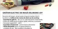 Gratar electric de masa Delimano Joy