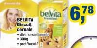 Biscuiti cereale Belvita