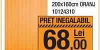 Jaluzea verticala Prim 200x160 centimetri oranj