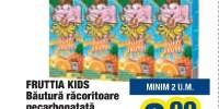 Bautura racoritoare necarbonatata Fruttia Kids