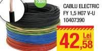 Cablu electric FY 1.5 H07 V-U