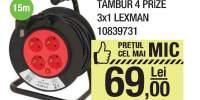 Tambur 4 prize 3x1 Lexman