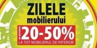 20-50% Reducere la tot mobilierul de interior