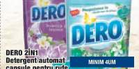 Detergent automat capsule pentru rufe Dero 2in1