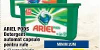 Detergent automat capsule pentru rufe Ariel Pods