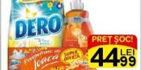 Detergent automat 2 in 1 Dero + Balsam de rufe Cocolino
