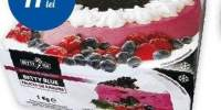 Tort de inghetata cu fructe de padure Betty Blue
