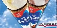 Inghetata la cornet Big Milk