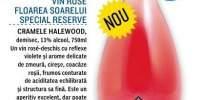 Vin rose Floarea Soarelui Special Reverse Cramele Halewood