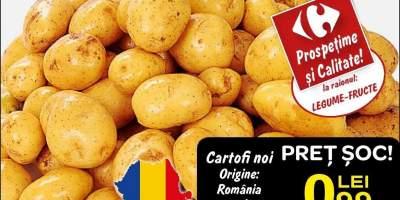 Cartofi noi Romania