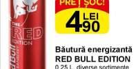 Bautura energizanta Red Bull Edition