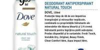 Deodorant antiperspirant Natural Touch Dove
