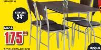 Set mobilier bucatarie masa si 4 scaune Thyholm