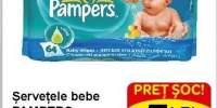 Servetele bebe Pampers