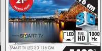 Smart Tv Led 3D 116 cm Samsung UE46F8000