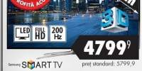 Smart Tv Led 3D 139 cm Samsung UE55F6400