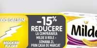 15% reducere la cumpararea pachetului Milde+Semana