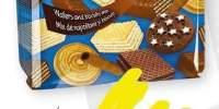 Mix napolitane si biscuiti/crema cacao Naty