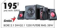 Boxe 2.1 SW-G2.1 1250 putere RMS