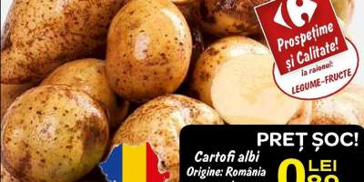 Cartofi albi Romania