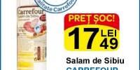 Salam de Sibiu Carrefour