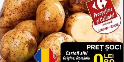 Cartofi albi origine: Romania