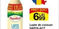Lapte de consum Napolact