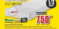 Gold S25 saltea cu arcuri Dream Zone