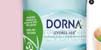 Apa plata izvorul alb Dorna 0.5 L