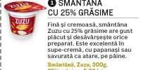 Smantana Zuzu 25% grasime