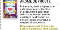 Dropsuri cu arome de fructe de padure Alpenbauer