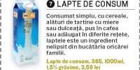 Lapte de consum 365