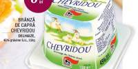 Branza de capra Chevridou Delhaize