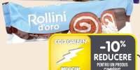 Rulada crema fructe de padure Rollini d'Oro