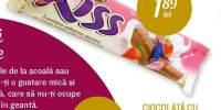 Ciocolata cu crema cu aroma de capsune Kiss