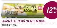 Branza de capra Sainte Maure Delhaize