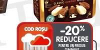 Inghetata Mini classic-mint-dark/ classic-almond-white Magnum