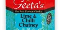 Chutney Lime & Chilli Geeta's