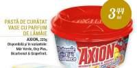 Pasta de curatat vase cu parfum de lamaie Axion