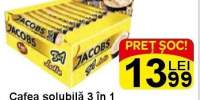 Cafea solubila 3 in 1 Jacobs