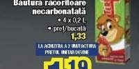 Tedi bautura racoritoare necarbonatata 4x0.2 litri
