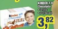 Kinder T8 ciocolata