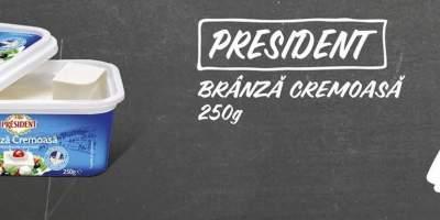 Branza cremoasa President
