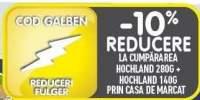 10% reducere la cumpararea Hochland 280 grame + Hochland 140 grame, prin casa de marcat!