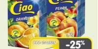 Suc portocale/piesici Ciao