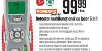 Detector multifunctional cu laser 5 in 1 Powerfix