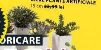 Bilke plante artificiale